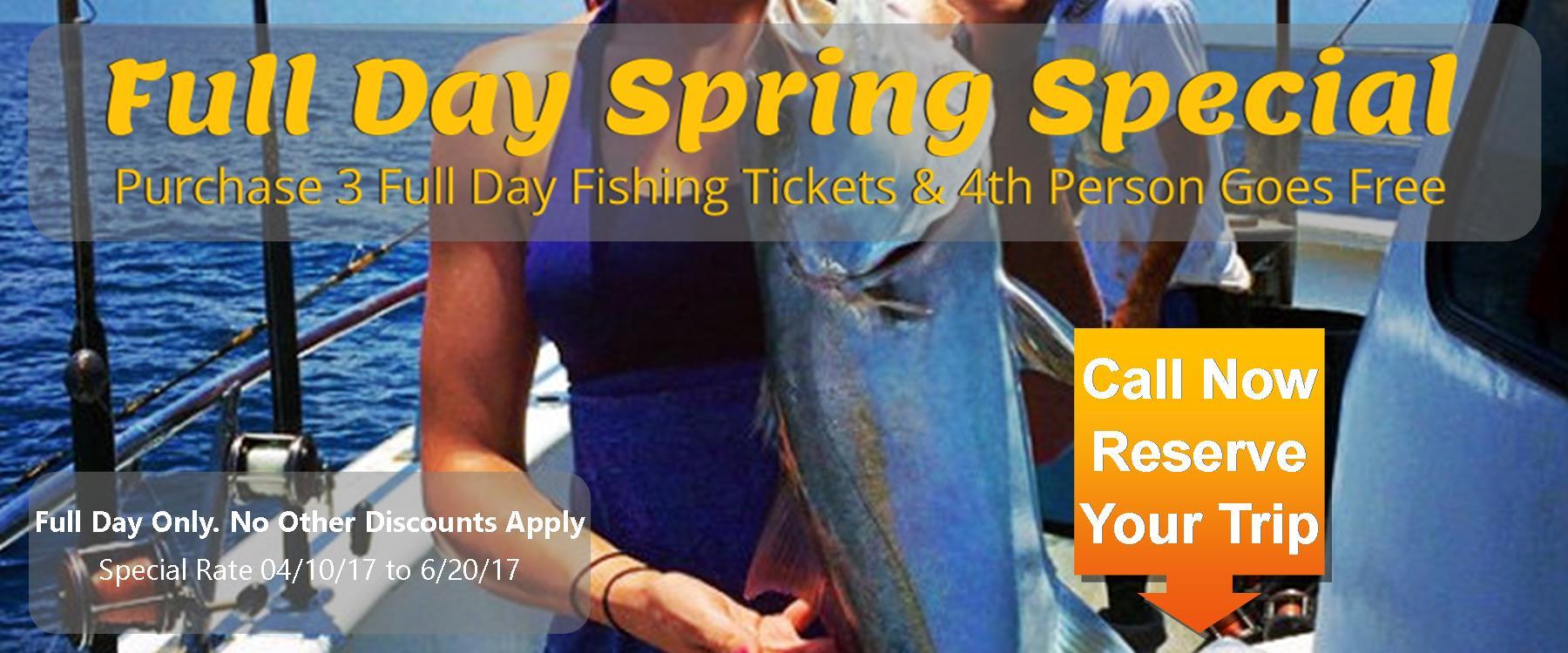 deep sea fishing coupon deal