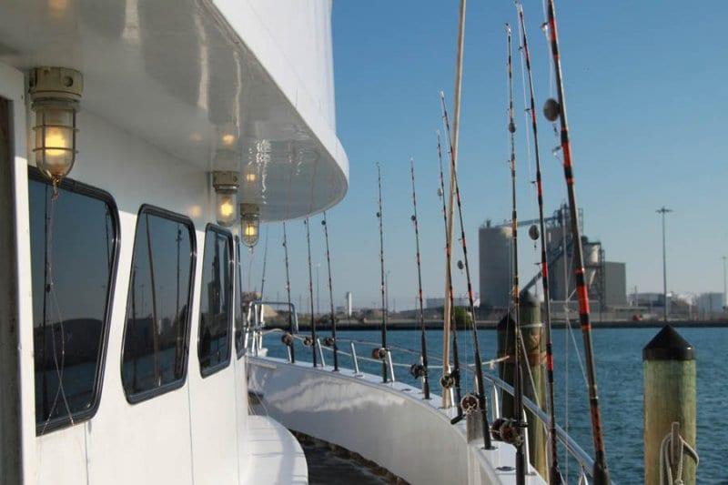 charter fishing equipment