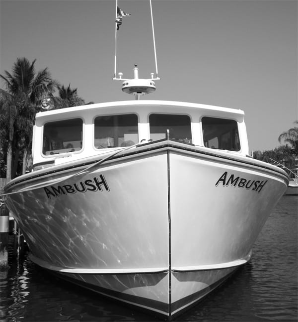 ambush charter fishing boat