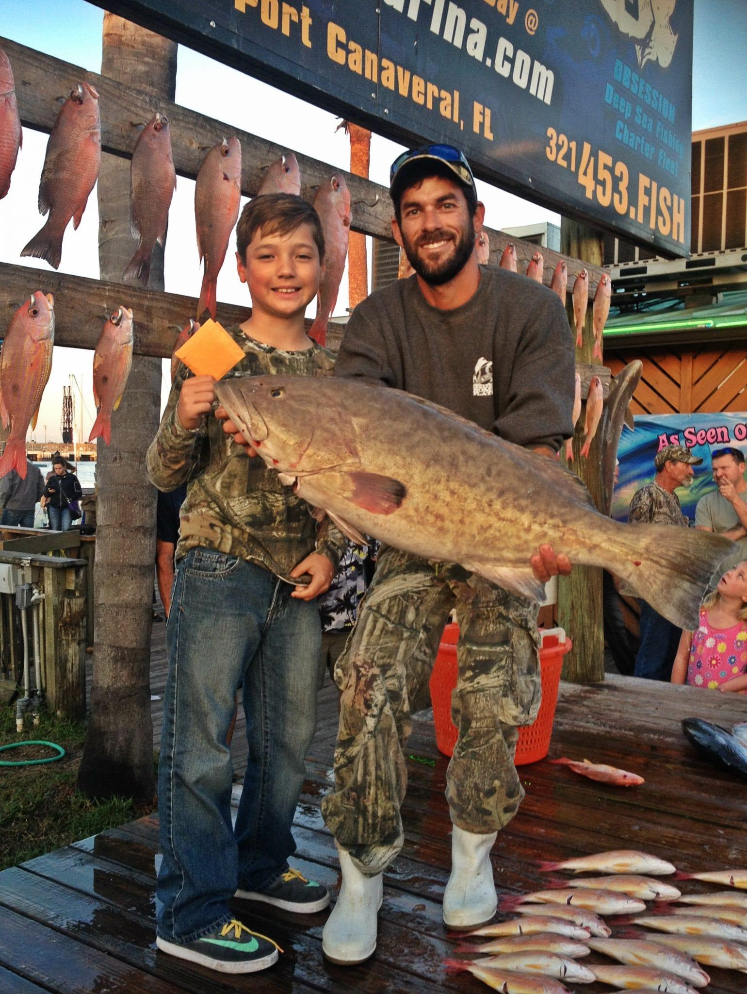 deep sea grouper fishing in Florida