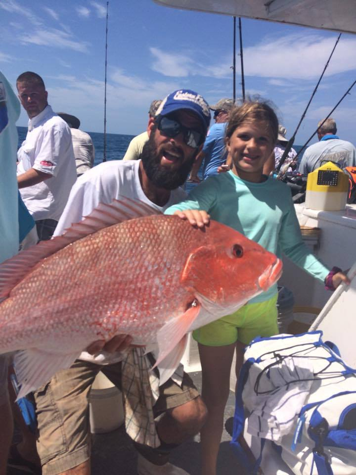 deep sea fishing port canaveral red snapper family trip